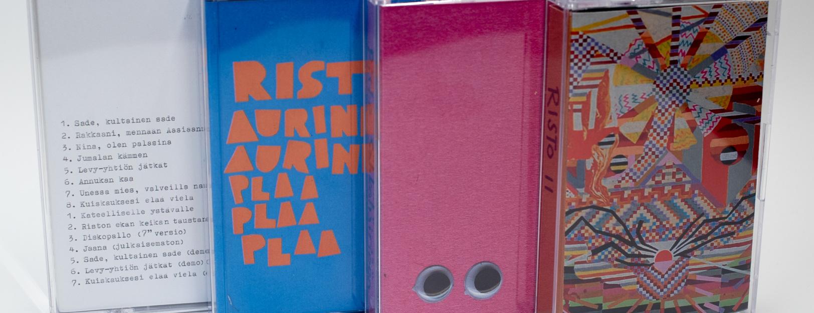 Risto studioalbumit kasetti